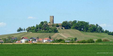 Burg Steinsberg bei Sinsheim-Weiler