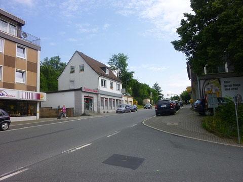 Heidenberg mit Blick Richtung Siegen