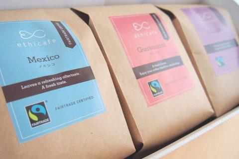 ethicafe コーヒー3個セット【コーヒー】