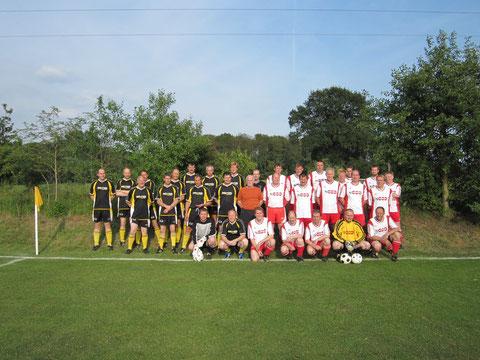 Altherrenmannschaft beim Jubiläum 2010