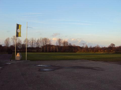 Fußballplatz des FC Fiat