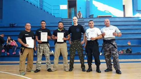 Instructors who passed the international certification for advance level in IPPKM