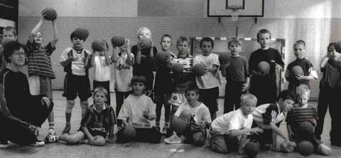Das erste Jungenteam startet in die Saison