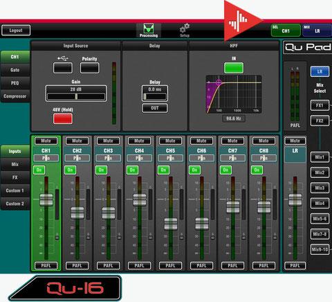 q-pad, consola digital, ipad cntrol