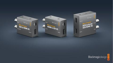 Conversores SDI a HDMI, HDMI a SDI