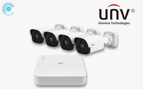 uniview, camaras ip, videovigilancia