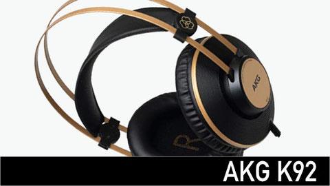 audífonos para estudio, AKG K92, shure