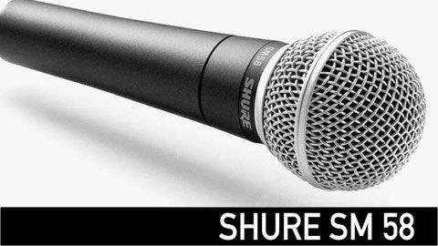 shure sm58, microfono para voz, shure, sennheiser, akg