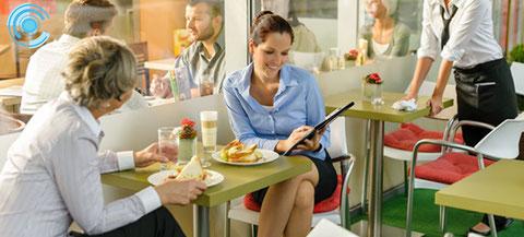 cámaras de vigilancia, restaurantes