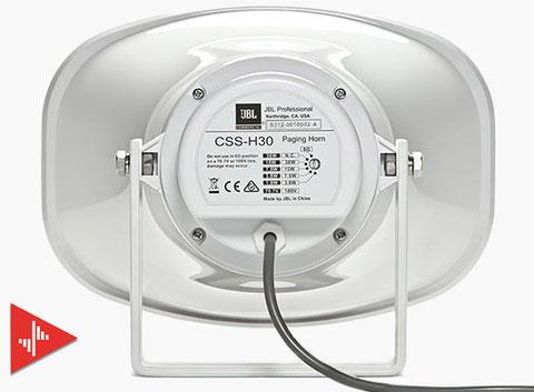 bocinas para alarmas, CSS-H30