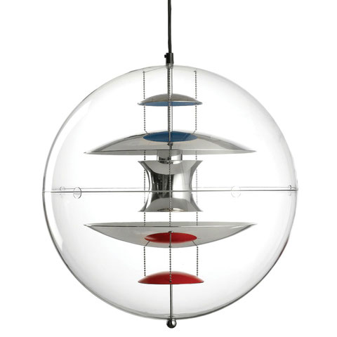 VP Globe, Verner Panton, Suspension Design, Globe Transparent, Globe Design, Suspension Globe, Luminaire Globe, Luminaire Boule, Suspension Boule, Plafonnier Boule, Suspension Globe, Plafonnier Globe, Globe Light, Design Insolite, Luminaire Moderniste