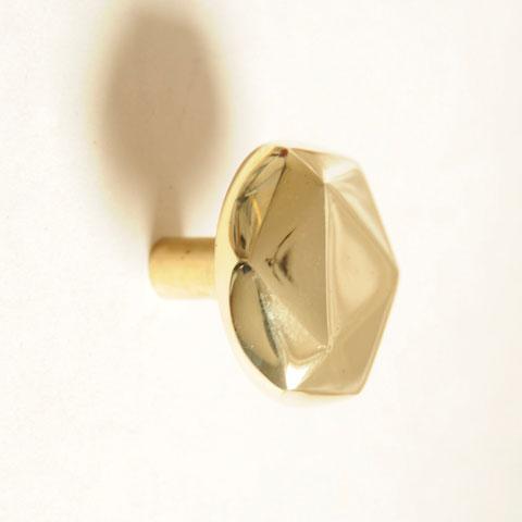 patère laiton; patère origami; patère design