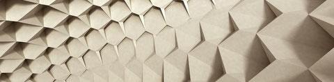 architecture origami; architecture design 3D