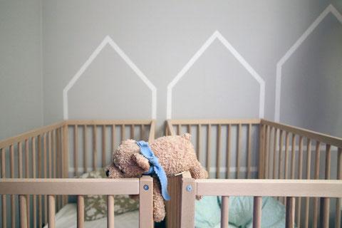 Grau im Kinderzimmer