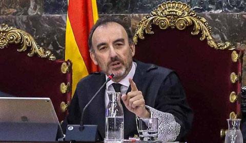 Der Präsident der Strafkammer des Tribunal Supremo, Manuel Marchena (Bild: efe)