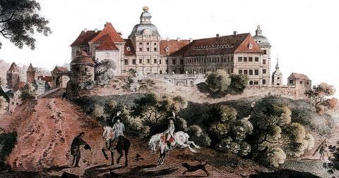 Schloss Neu-Augustusburg - Carl Benjamin Schwarz, 1786