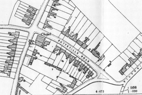 Extract from the 1904 map
