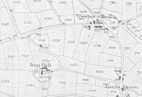 Tithe Map extract, 1843