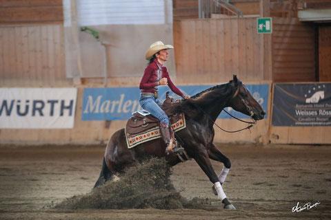 Rigott Verena - Novice Horse Non Pro Co Champion