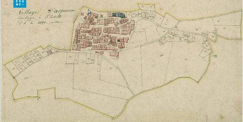 Cadastre du 29 aout 1825