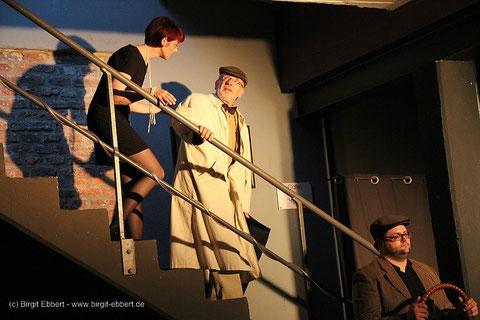 Theater a.d. Volme, Hagen 2014: Kerstin Menzebach,Matthias Geck,Arne Bieck. Fotos: Birgit Ebbert