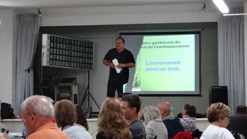 Présentation CQDE - L'environnement prend ses droits
