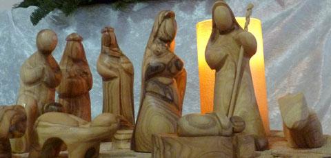 Krippendarstellung aus Bethlehem
