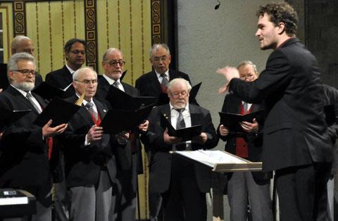Gruppenchorkonzert 2016 - Leitung: Marvin Weigert
