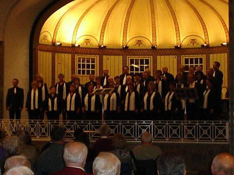 GV Frohsinn Riedenberg - Konzert der Leistungschöre in der Wandelhalle - 161011