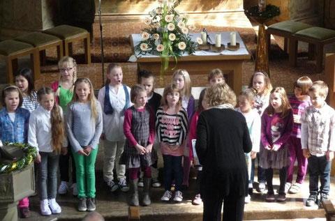 Kinder-Singkreis - in Premich  210413