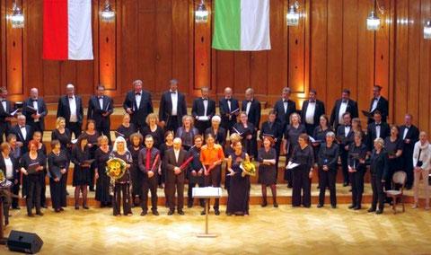 Abschluss mit Mixtura Cantorum - Jubiläums-Chorkonzert im Max-Littmannsaal - 16.09.2017