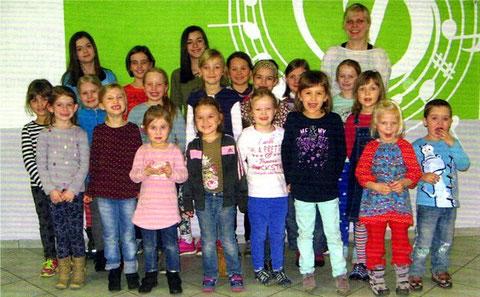 Die Westolinos - Leitung: Miriam Bogner - im Jubiläumsjahr 2015