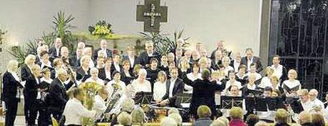 """""""Missa Brevis"""" von Jacob de Haan - Leitung: Florian Seuffert - St. Georg Kirche Diebach -21.10.17"""