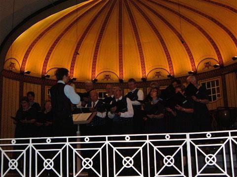 beim Gruppenchorkonzert - Wandelhalle Bad Kissingen - 17.10.10