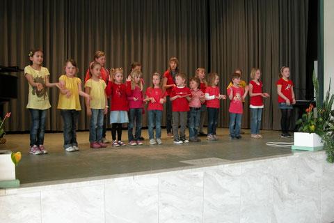 Kinderchor in Bad Bocklet 2012