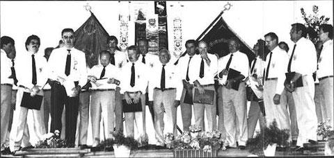 80-jähriges Vereinsjubiläum - 1986