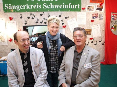 Sängerin Steffi List am Sängerkreis Stand - UFRA 041012