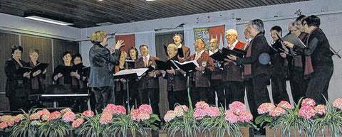 Jubiläums-Liederabend in Haard - 14. April 2012
