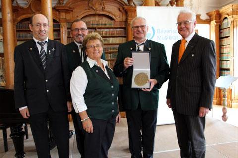 Verleihung der Zelter-Plakette - Kloster Roggenburg - 2016