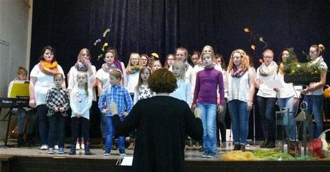 Kinderchor und Chorisma - 2015