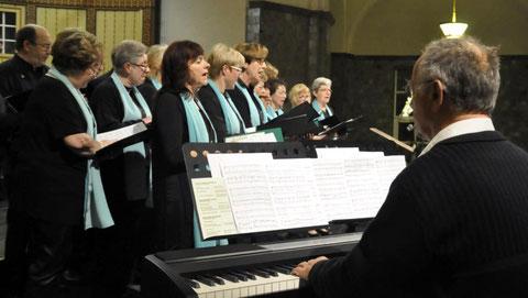 Stammchor beim Gruppenchorkonzert 2016 - Leitung: Rudolf Schreiter