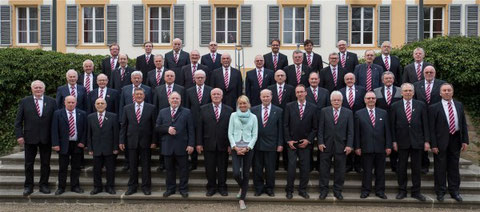 Landkreismännerchor 2016 - Leitung: Ilona Seufert (seit 2015)