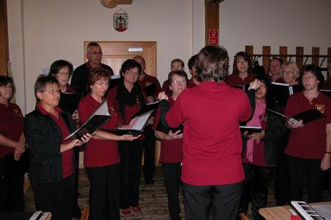 chorische Einstimmung -  Gruppenversammlung - 5.11.11
