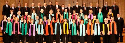 Gemischter Chor – Mai 2013 - Foto: Sigrid Metz