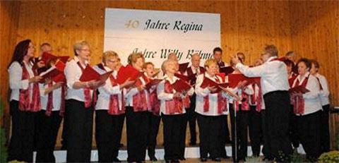 Regina Rinke - 40 Jahre Chorleitung 301010
