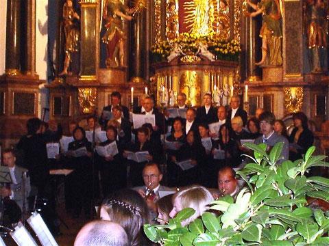 Jubiläumsgottesdienst -Kloster Altstadt 081011