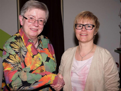 Wechsel - Kassiererin nach 28 Jahren - JHV 2017