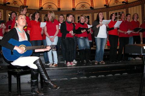 Heart Chor Sulzthal mit Leiterin Ilona Seufert 20. März 2011