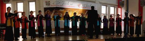 FSB-Leistungschor - Frauenchor beim FSB-Leistungssingen in Sulzbach-Rosenberg 2012