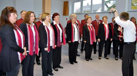 Musikalische Umrahmung - Gruppenversammlung 2016 -Leitung in Vertretung : Nikolaus Metz